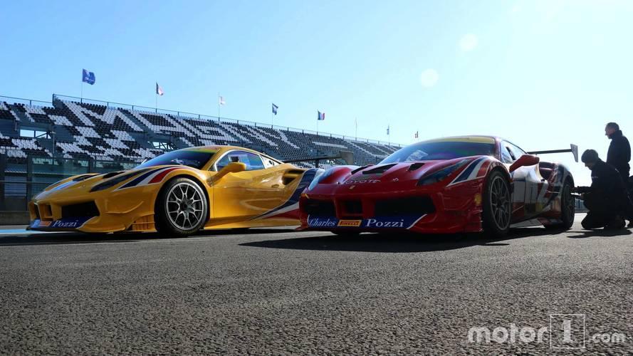 Reportage - Immersion au sein de la Ferrari 488 Challenge du Team Pozzi-Courage