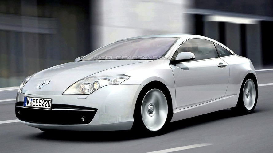 Renault Laguna Coupe Spied Again