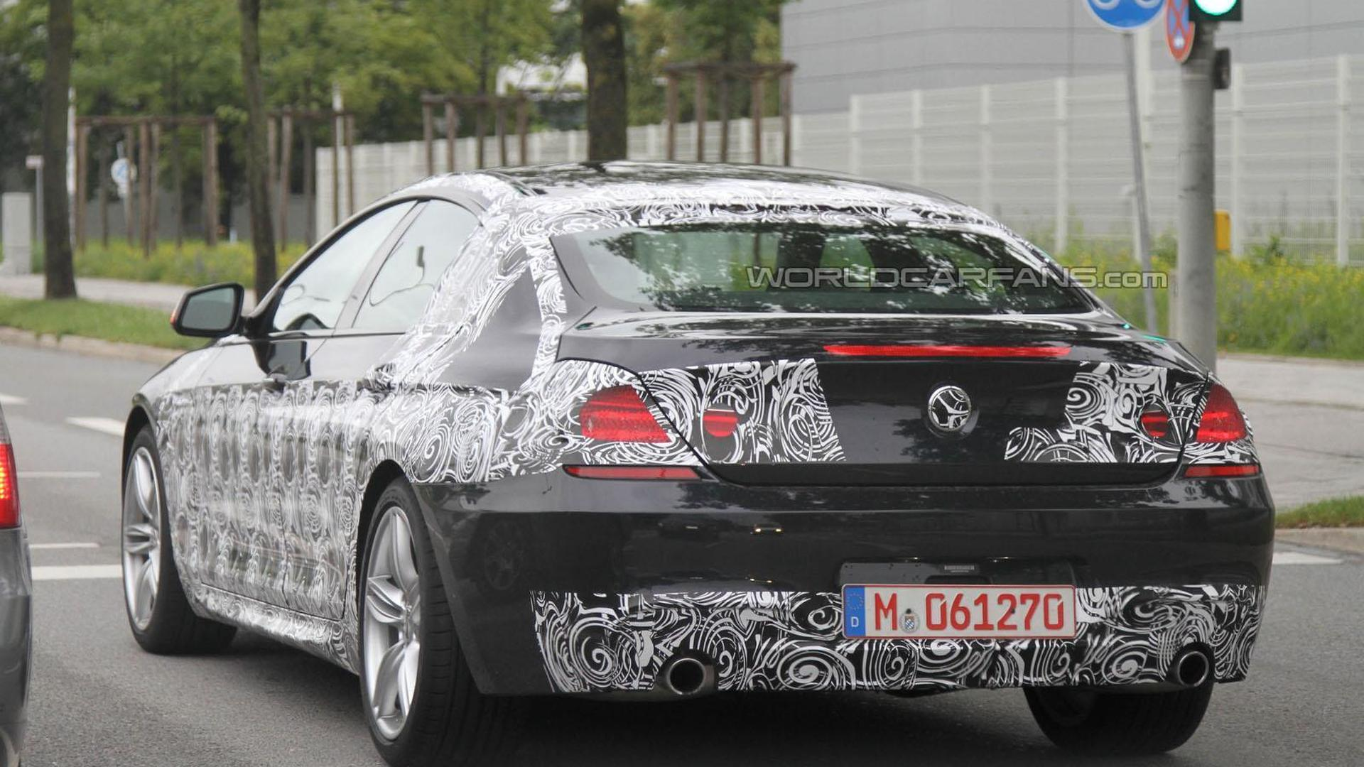 BMW Series Gran Coupe Spied With The MPackage - 2011 bmw 6 series