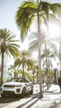 Naomie Harris and Range Rover Evoque Convertible
