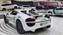 Porsche 918 Spyder for Dubai Police