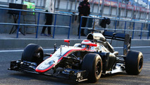 Jenson Button (GBR), McLaren MP4-30, 02.02.2015, Formula One Testing, Day Two, Jerez, Spain / XPB