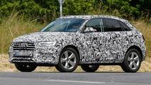 2015 / 2016 Audi Q3 facelift spy photo