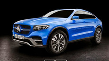Mercedes-Benz GLC Coupe production version render