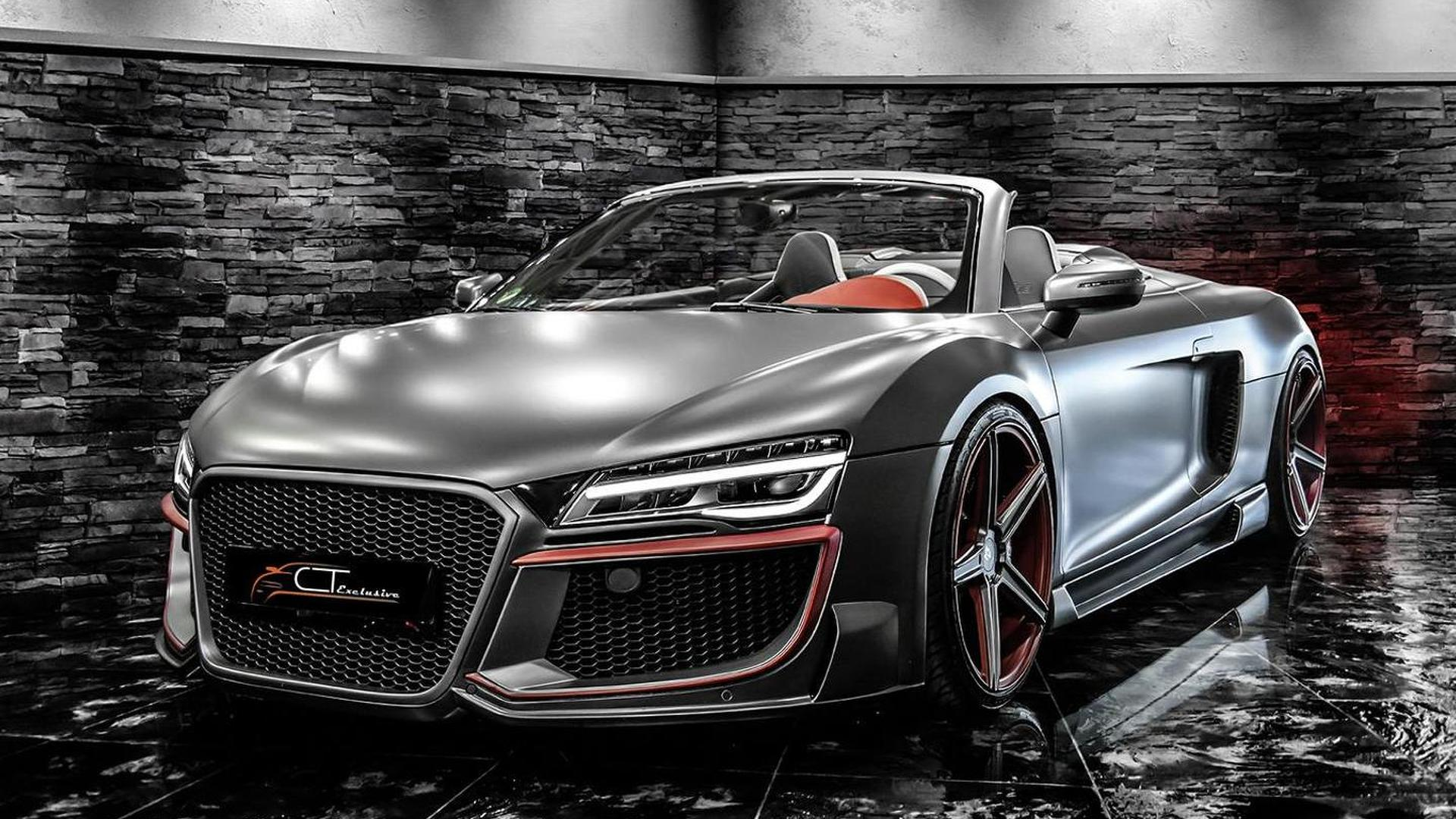 Audi R8 Spyder. Тюнинг от CT Exclusive