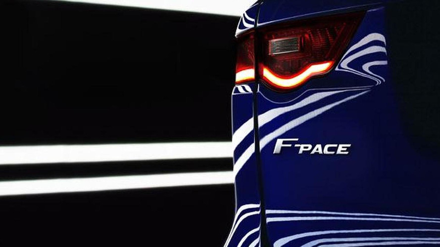 Jaguar F-Pace to spawn a family of SUVs