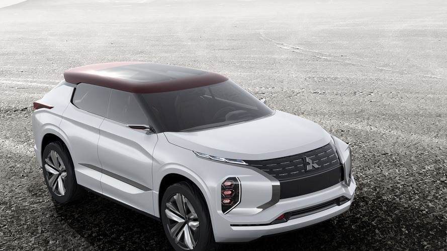 Mitsubishi GT-PHEV SUV coupe konsepti Paris'te gösterildi