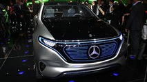 Mercedes Generation EQ concept at 2016 Paris Motor Show