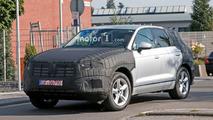 Volkswagen Touareg casus fotoğrafları