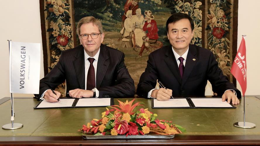 VW, JAC işbirliğiyle Çin'de elektrikli ve hibrit araç üretecek