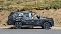 Nissan Navara SUV spy photo