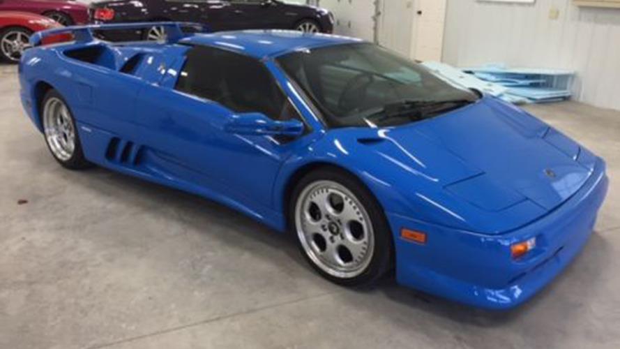 Donald Trump'ın Lamborghini Diablo'su eBay'de destek bulamadı