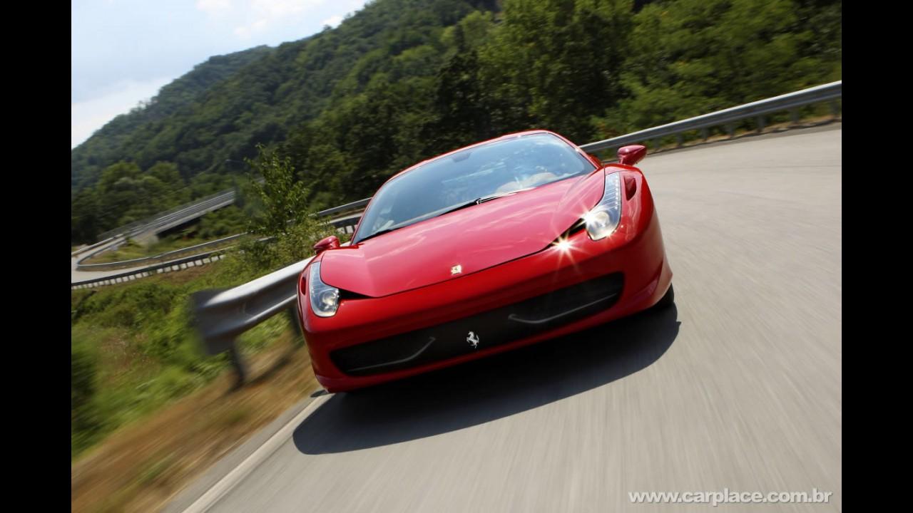 Ferrari 458 Italia - Confira novo vídeo e belas fotos em alta resolução