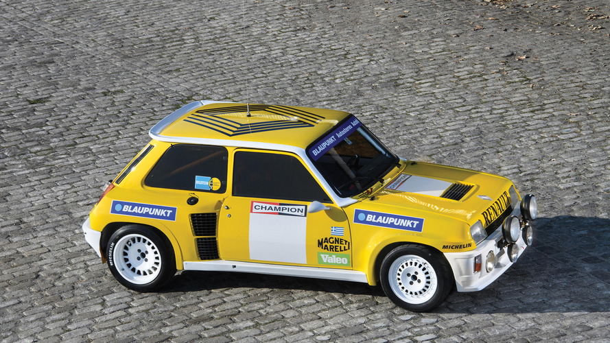 PHOTOS - Une R5 Turbo Groupe B en vente à Rétromobile