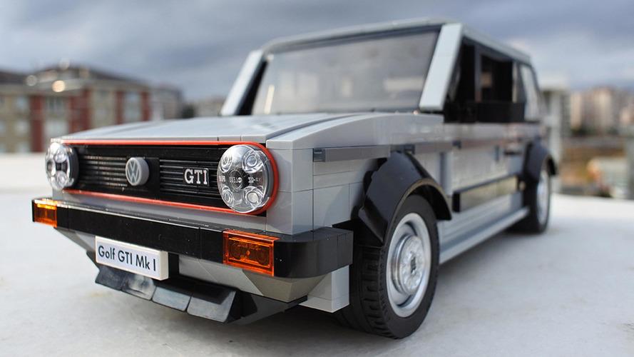 Et si cette Golf GTI Mk I devenait votre futur kit Lego ?