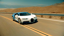 Bugatti Chiron çöl testi