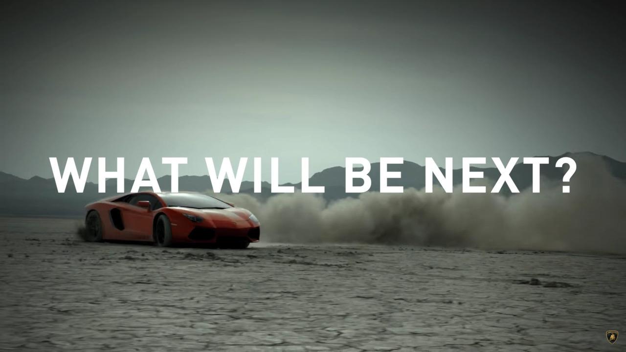 Lamborghini teaser görüntüsü