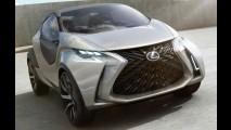Veja as primeiras imagens do conceito de hatch compacto da Lexus