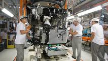 Nissan Kicks na fábrica de Resende