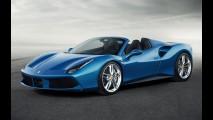 Ferrari revela 488 Spider, que estreia em Frankfurt com V8 biturbo de 670 cv