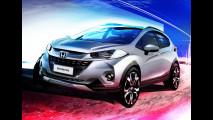 Honda divulga nova imagem do WR-V, crossover do Fit que estreia no Salão