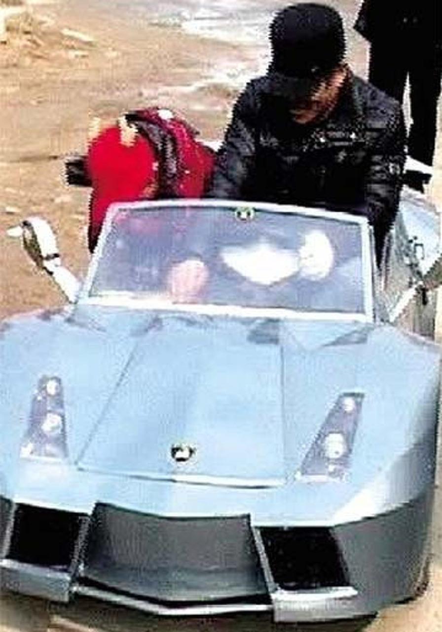 Chinese Man Builds 59-mph, Mini-Lamborghini for Grandson