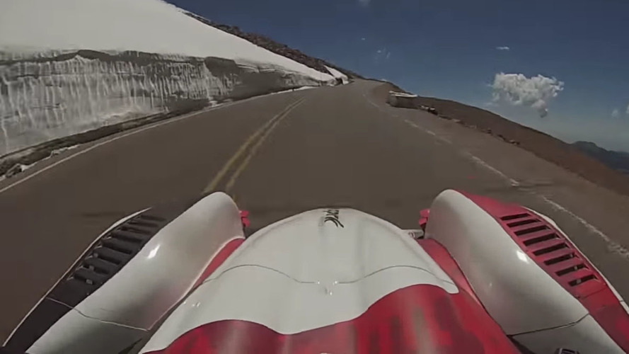 Watch what it took for Romain Dumas to win Pikes Peak