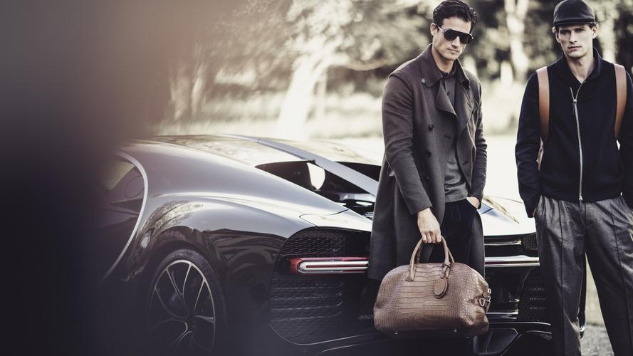 Bugatti and Giorgio Armani collaborate on line of bags and clothing