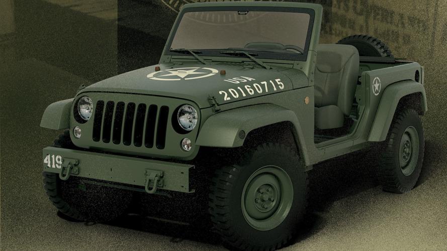 Wrangler 75th Salute concept celebrates original military Jeep