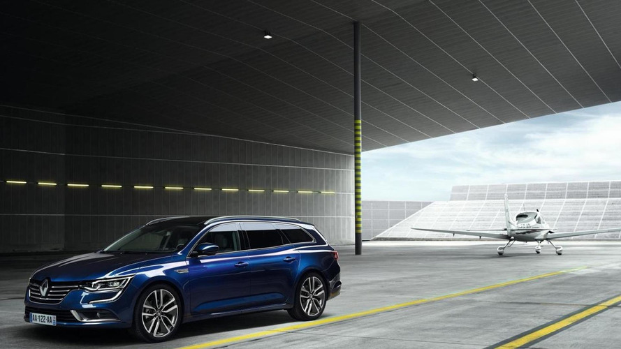 Renault Talisman Estate goes official
