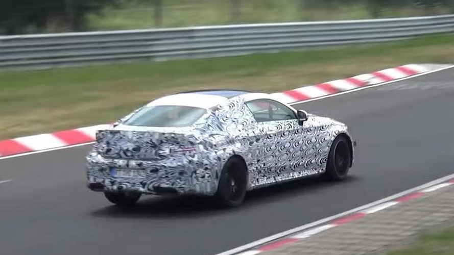Mercedes-AMG C63 Coupe spied at the Nurburgring [video]