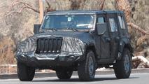 Jeep Wrangler photos espion 2018