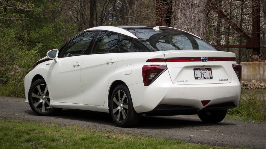 La Toyota Mirai fait son chemin aux États-Unis