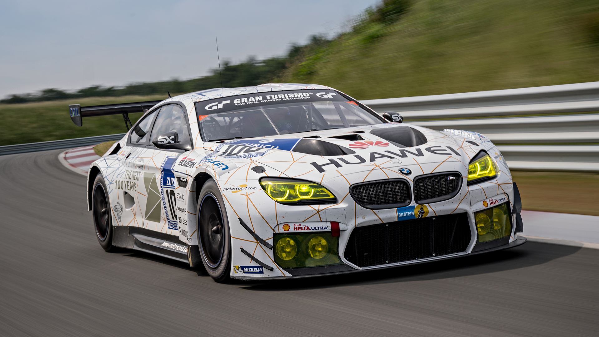 Track Test Bmw M6 Gt3
