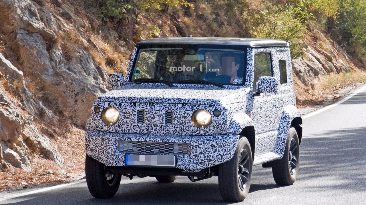 2018 suzuki 500. perfect suzuki 2018 suzuki jimny spy photo to suzuki 500