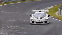 McLaren 675LT yarış aracı casus fotoğraflar
