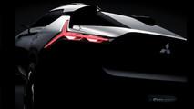 Mitsubishi e-Evolution concept teaser