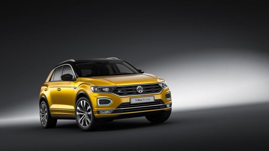 2017 Volkswagen T-Roc, R-Line paketiyle Frankfurt'ta