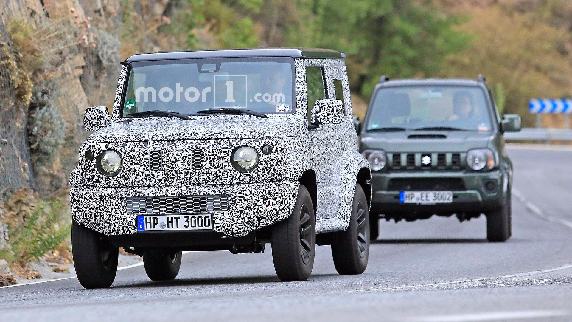 2019 Suzuki Jimny >> Next-gen Suzuki Jimny Spied Testing With Current Model