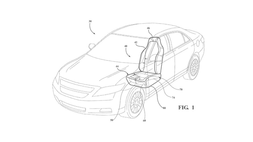 Ford Patents Active Thigh Seat Supports To Prevent Submarining