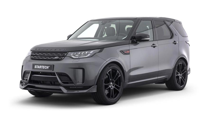 Land Rover Discovery, Startech ile daha güçlü görünüyor