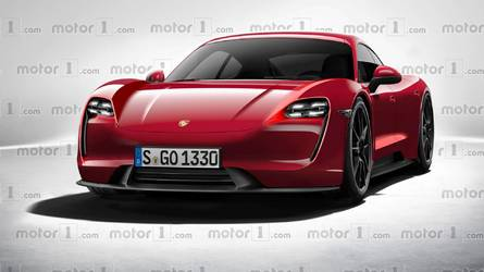 2020 Porsche Mission E Rendered As Production Model