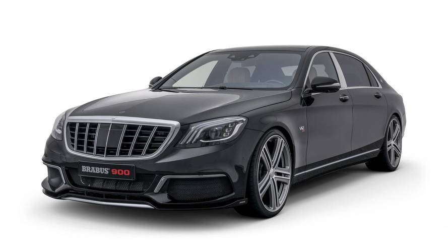 Brabus let loose on Mercedes limos with 217mph consequences