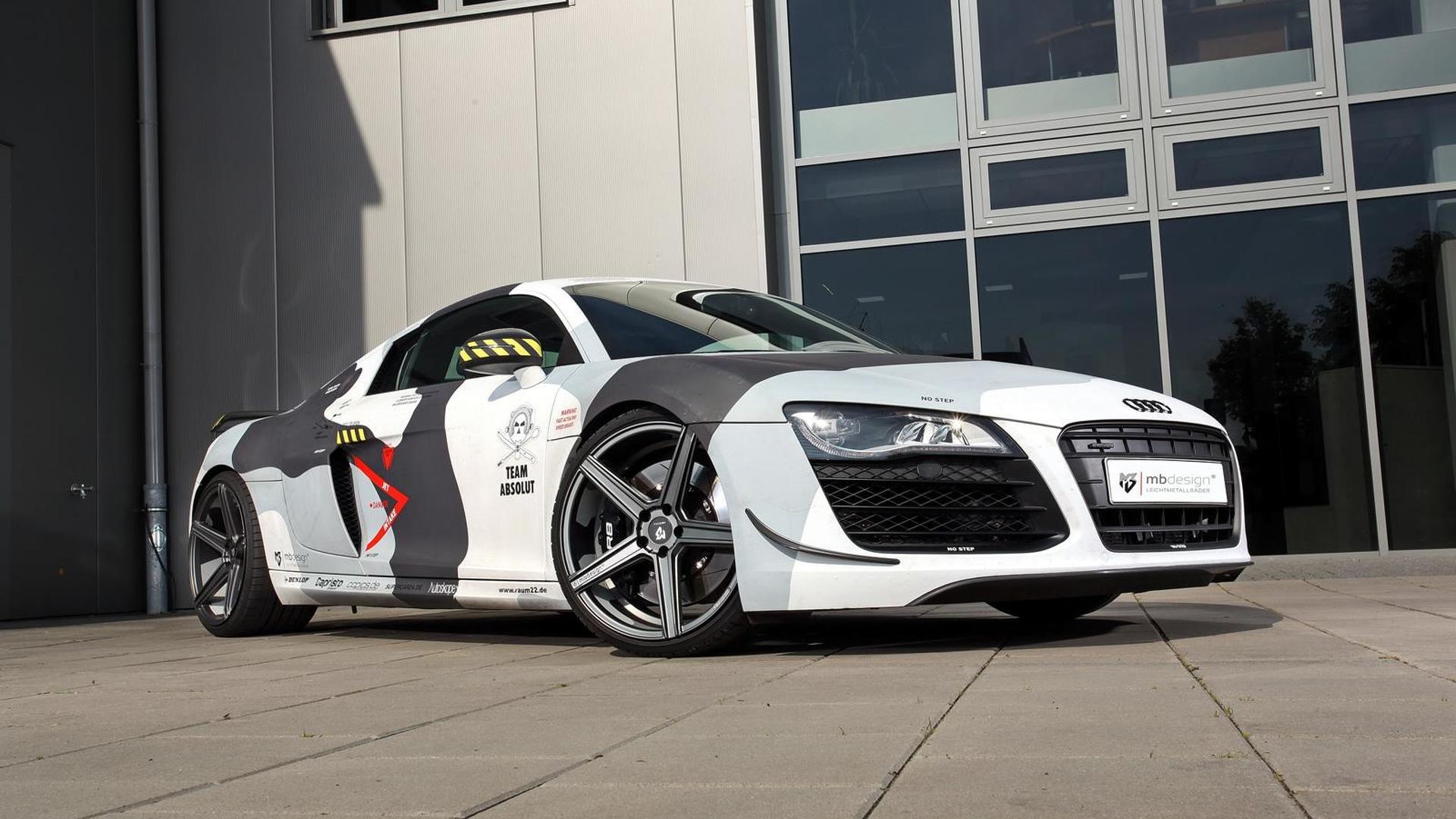 Камуфляжный тюнинг Audi R8 V8 от mbDESIGN