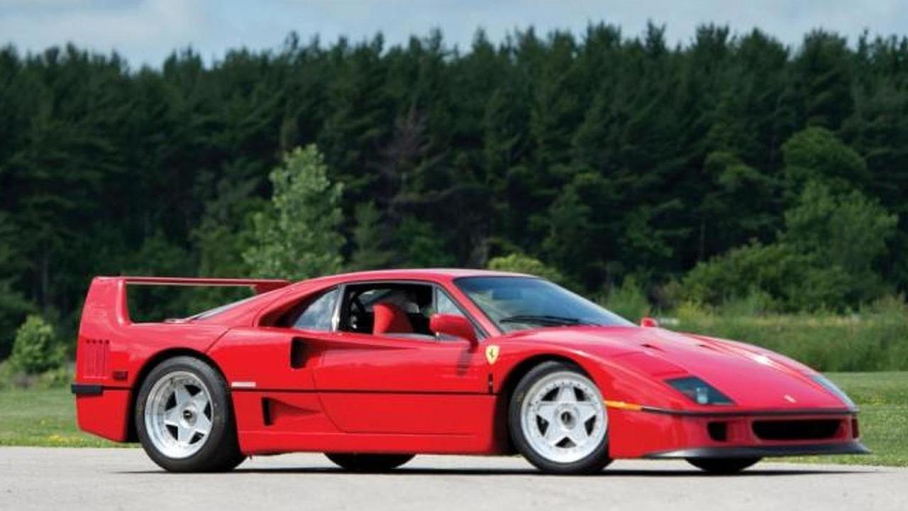 Rod Stewart Ferrari F40 for sale