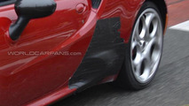 Alfa Romeo 4C Quadrifoglio Verde / Stradale spy photo