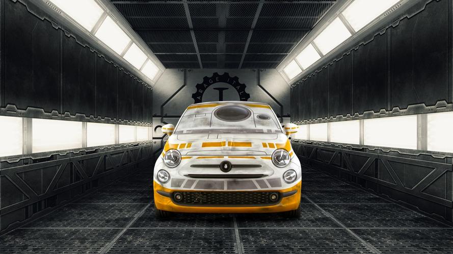 Garage Italia Customs unveils R2-D2 & BB-8 inspired Fiat 500s