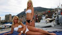 Girls in Monaco in the harbour, Monaco Grand Prix, 15.05.2010 Monaco, Monte Carlo
