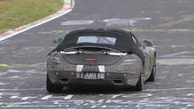 Mercedes SLS AMG Cabriolet spy photo, Nurburgring Nordschleife, Germany 21.05.2010