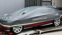 BMW sustainable sports car concept car spy photo